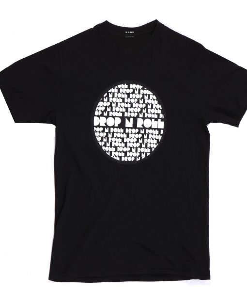 Black T-Shirt Circle Future Design