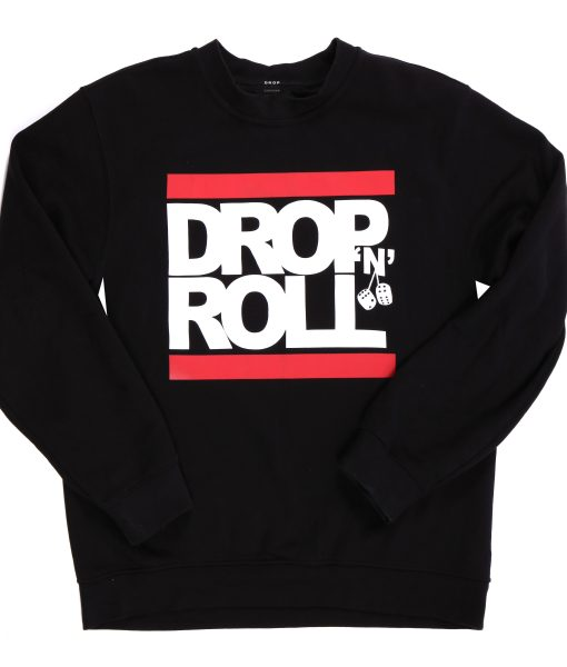 DNR Logo Sweat-Shirt Red Lines (B)