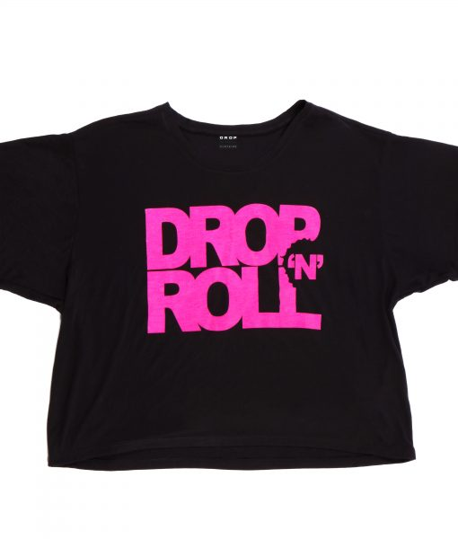 DNR Pink Logo Crop Top (B)